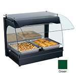"Hatco GRCMW-1 GREEN 22-1/8"" Merchandising Warmer w/ 1-Deck, Hunter Green, 120 V"