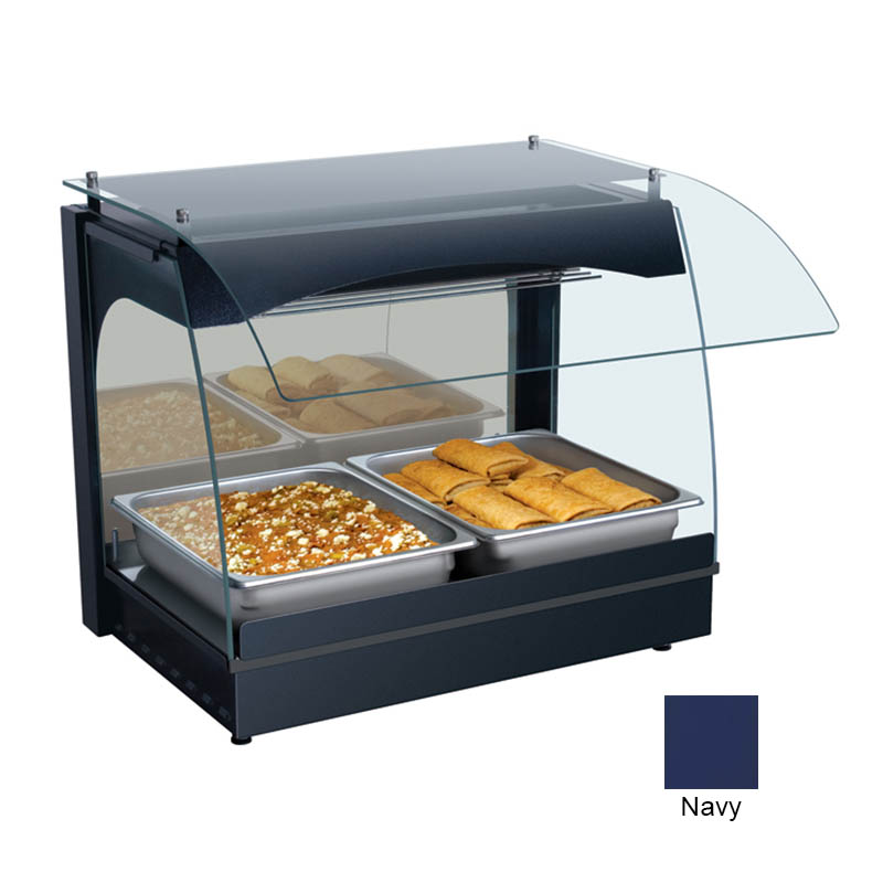 Hatco GRCMW-1 NAVY 22-1/8-in Merchandising Warmer w/ 1-Deck, Navy, 120 V