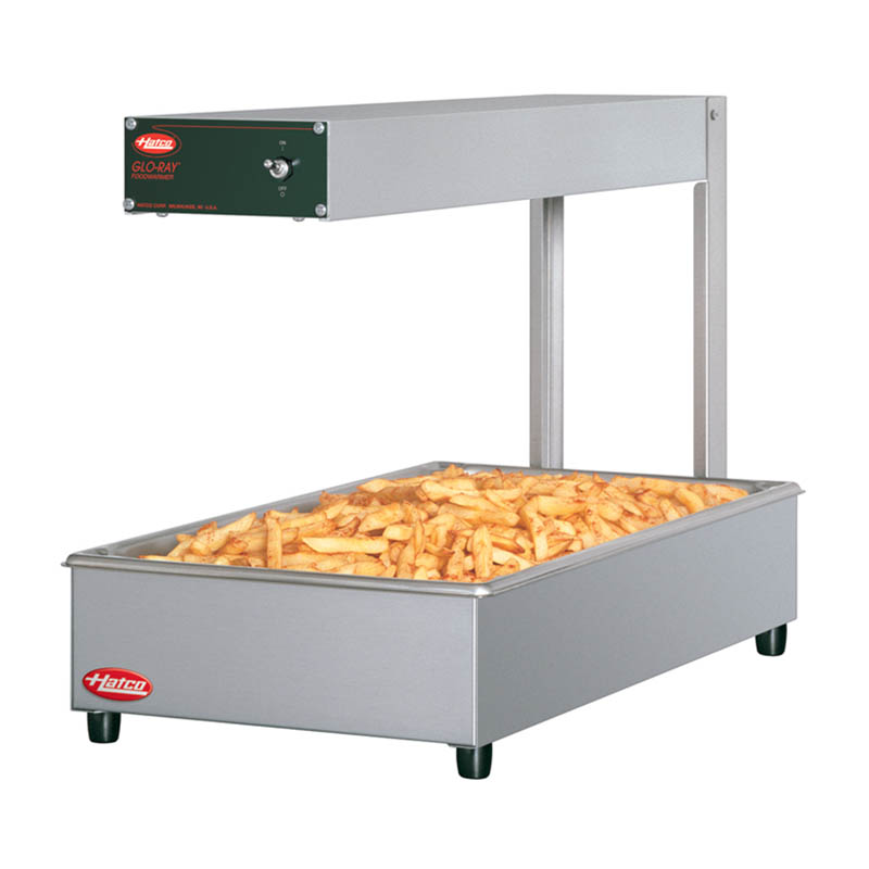 Hatco GRFF-120-T-QS Portable Food Warmer - Special Pan Stand, Metal Sheather Element, 500W