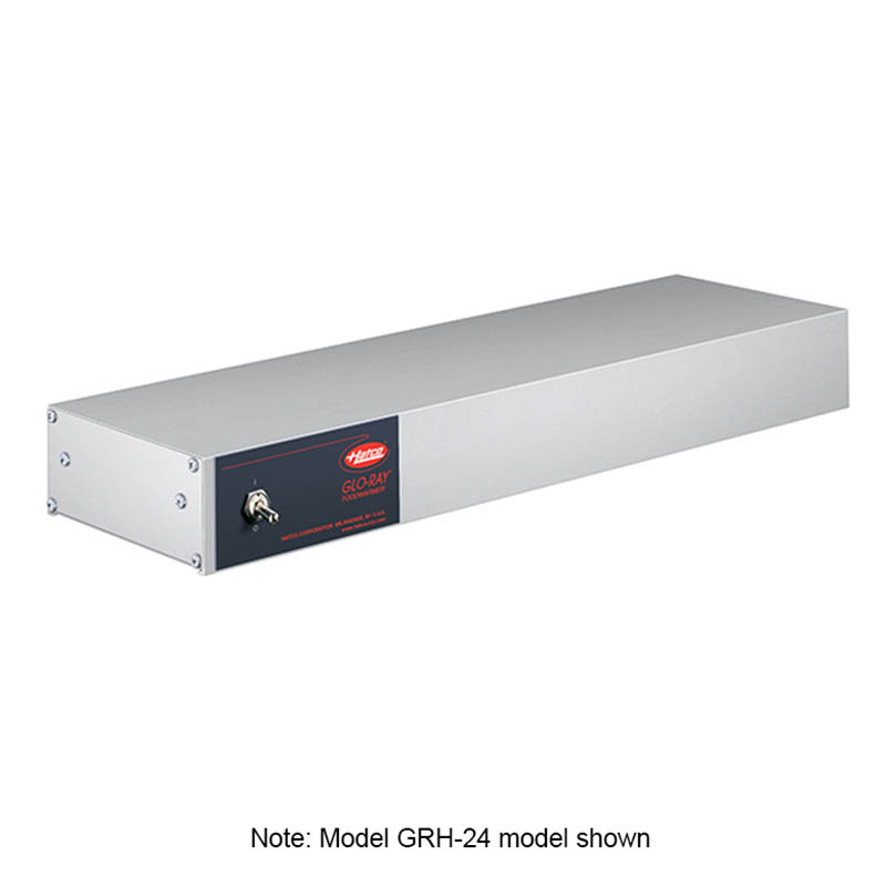 """Hatco GRH-18 208 18"""" Foodwarmer w/ High Watt, 208 V"""