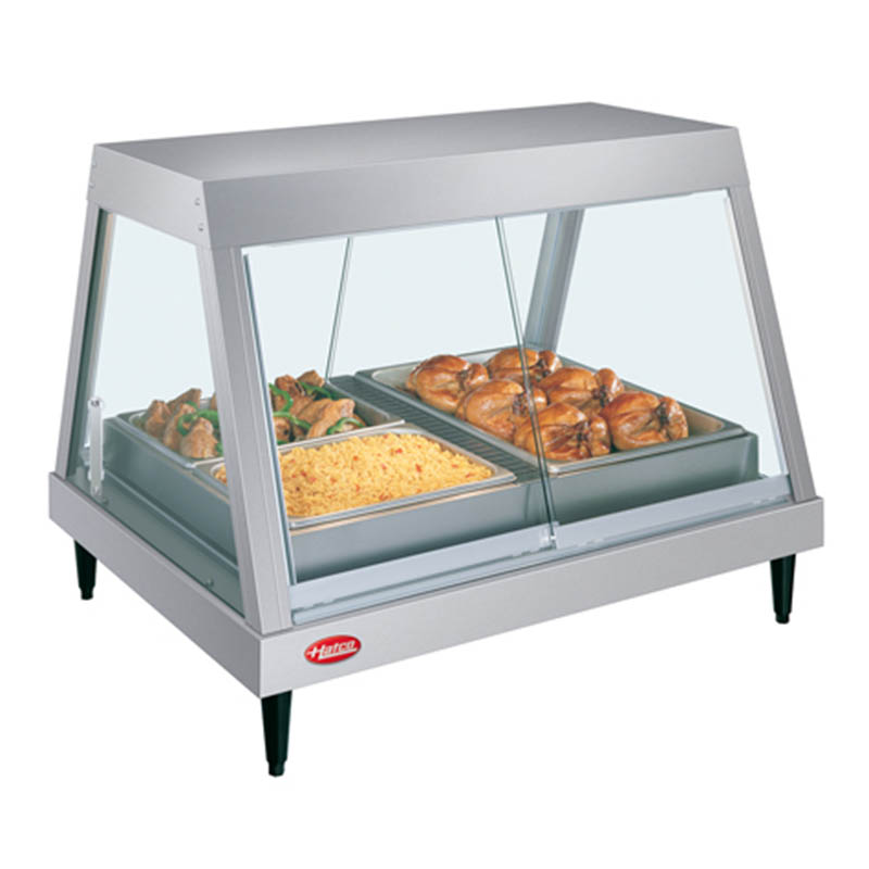Hatco GRHDH-2P Heated Display, 3-qt Humidity, 1-Shelf, 2-Pan, 1190 Watts
