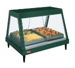 Hatco GRHDH3PDBLACK Countertop Heated Display Case, Glass Front Design, 3-Single Shelf, 1600-watt