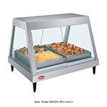 "Hatco GRHDH-4P 58.5"" Full-Service Countertop Heated Display Case w/ Straight Glass - (1) Level, 120v"