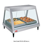 "Hatco GRHDH-4P 240 59-2/5"" Heated Glass Front Display Case w/ 4-Pan Shelf, 240 V"