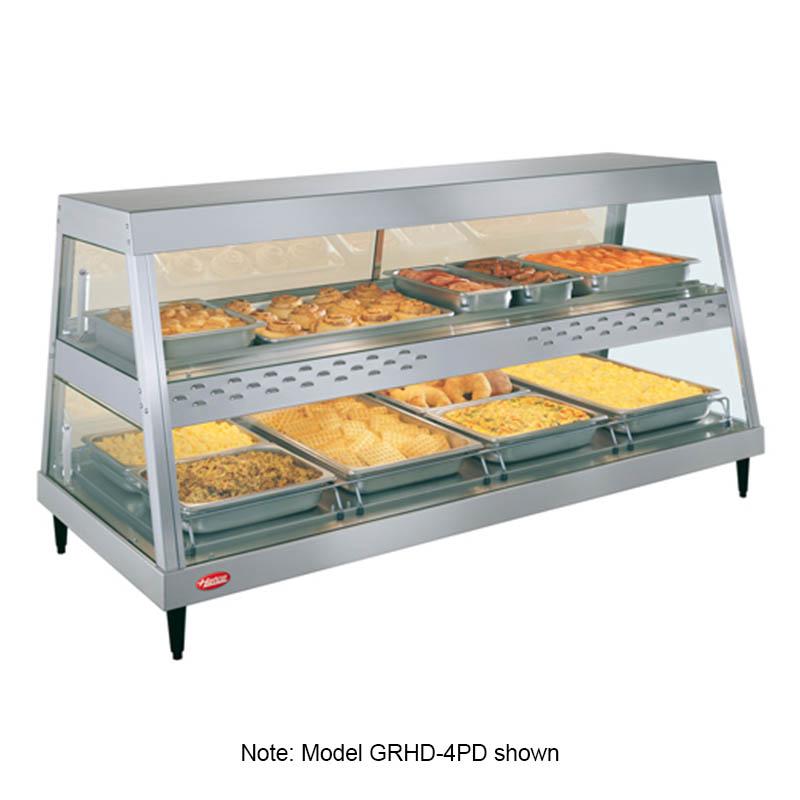 Hatco GRHDH-4PD Heated Display, 3-qt Humidity, 2-Shelves, 4-Pan Each, 2980 Watts