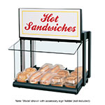 Hatco GRHW-1SGS Glo-Ray Display Warmer, Slanted Heated Base, Sneeze Guard, 820 Watts