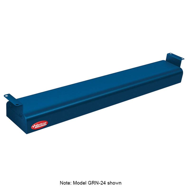 "Hatco GRN-18 120 NAVY 18"" Narrow Infrared Foodwarmer, Navy, 120 V"