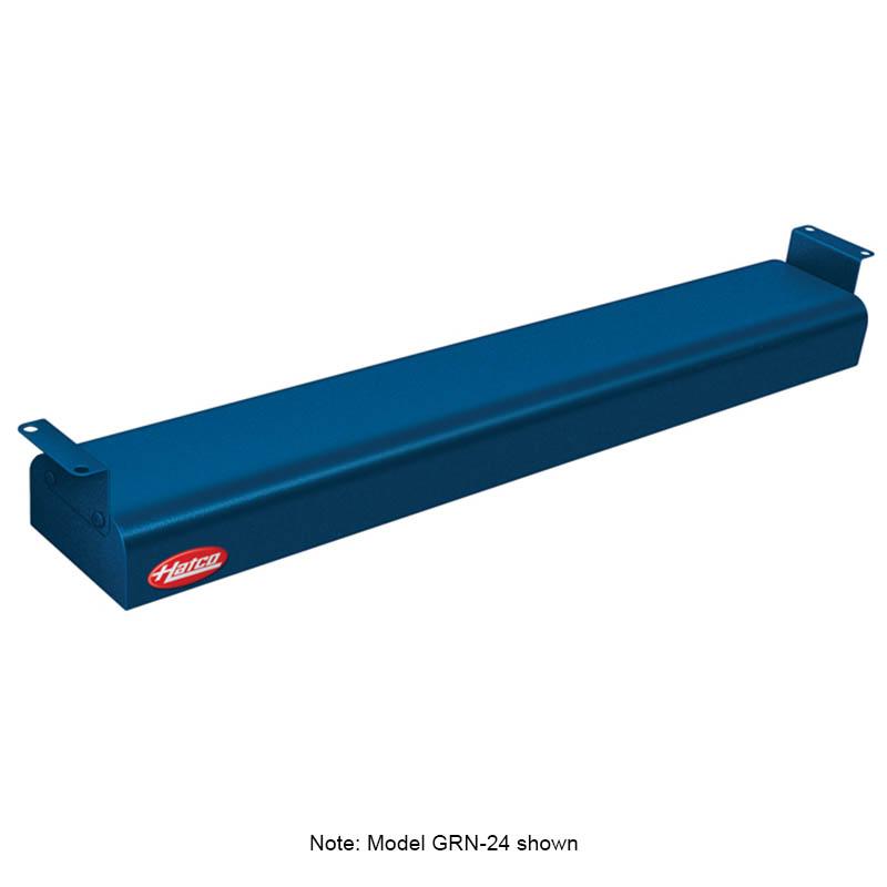 "Hatco GRN-18 240 NAVY 18"" Narrow Infrared Foodwarmer, Navy, 240 V"