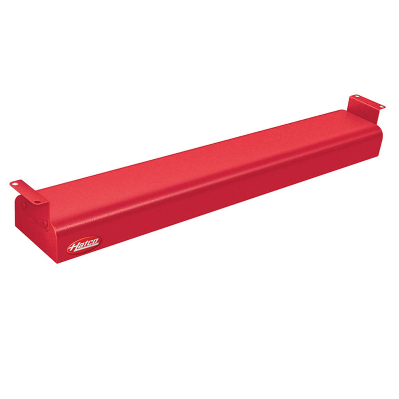 "Hatco GRN-24 120 RED 24"" Narrow Infrared Foodwarmer, Warm Red, 120 V"