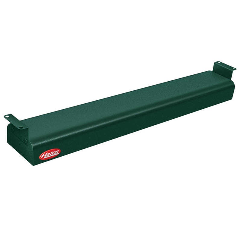 "Hatco GRN-24 208 GREEN 24"" Narrow Infrared Foodwarmer, Hunter Green, 208 V"