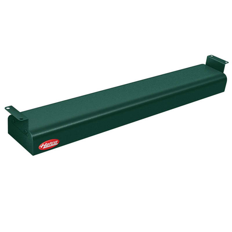 "Hatco GRN-24 240 GREEN 24"" Narrow Infrared Foodwarmer, Hunter Green, 240 V"