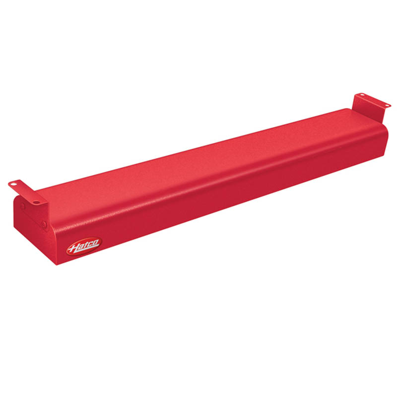 "Hatco GRN-24 240 RED 24"" Narrow Infrared Foodwarmer, Warm Red, 240 V"
