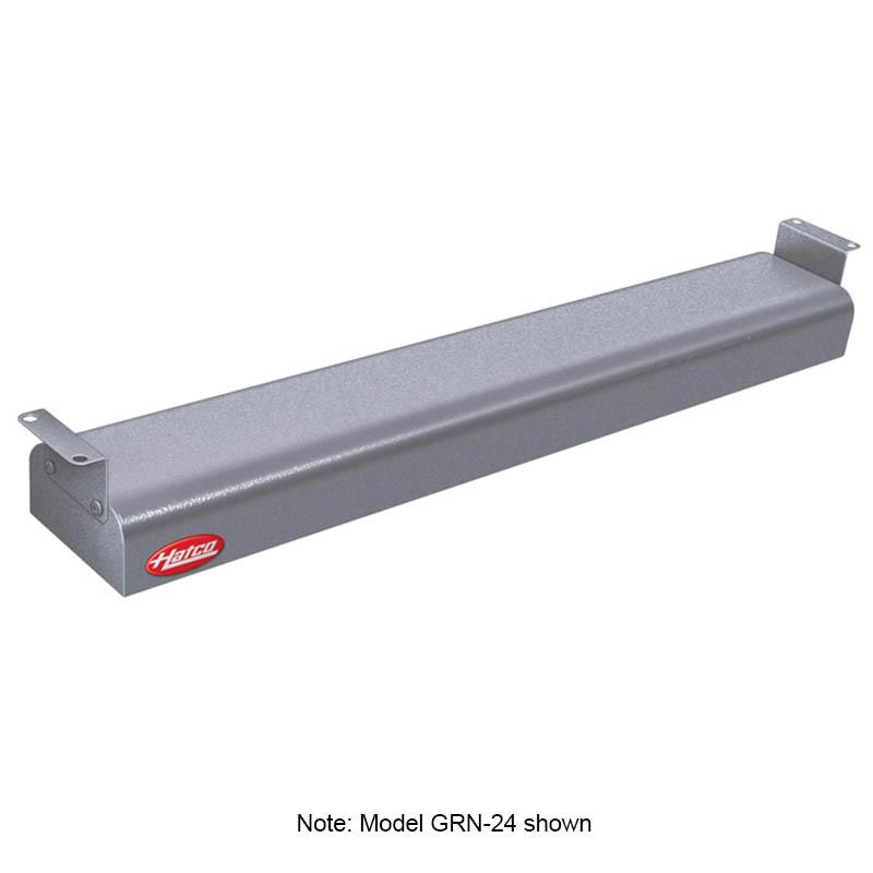 """Hatco GRN-30 208 GRAY 30"""" Narrow Infrared Foodwarmer, Gray Granite, 208 V"""
