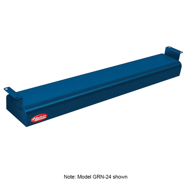 "Hatco GRN-30 208 NAVY 30"" Narrow Infrared Foodwarmer, Navy, 208 V"