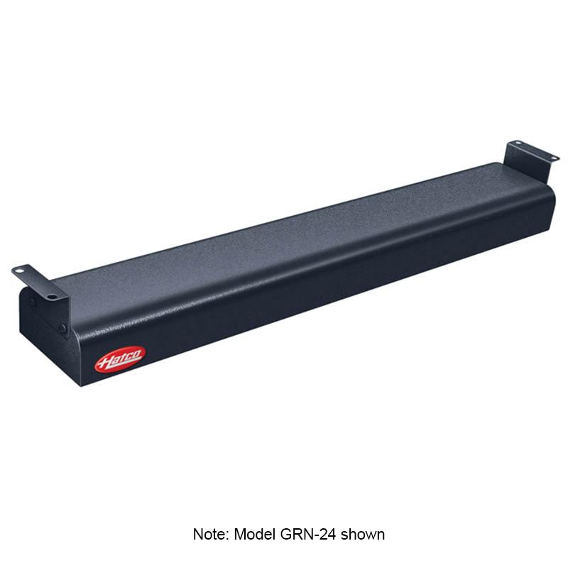 """Hatco GRN-30 240 BLACK 30"""" Narrow Infrared Foodwarmer, Black, 240 V"""