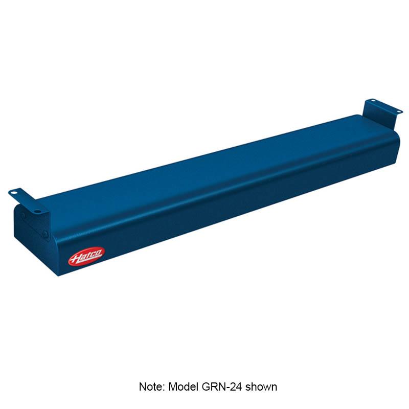 "Hatco GRN-36 120 NAVY 36"" Narrow Infrared Foodwarmer, Navy, 120 V"