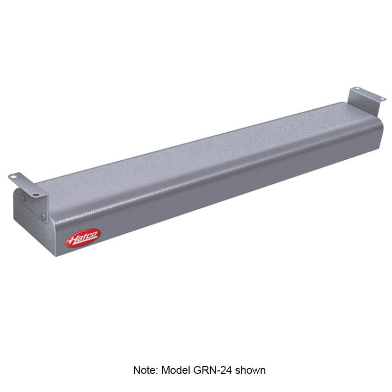 """Hatco GRN-36 240 GRAY 36"""" Narrow Infrared Foodwarmer, Gray Granite, 240 V"""