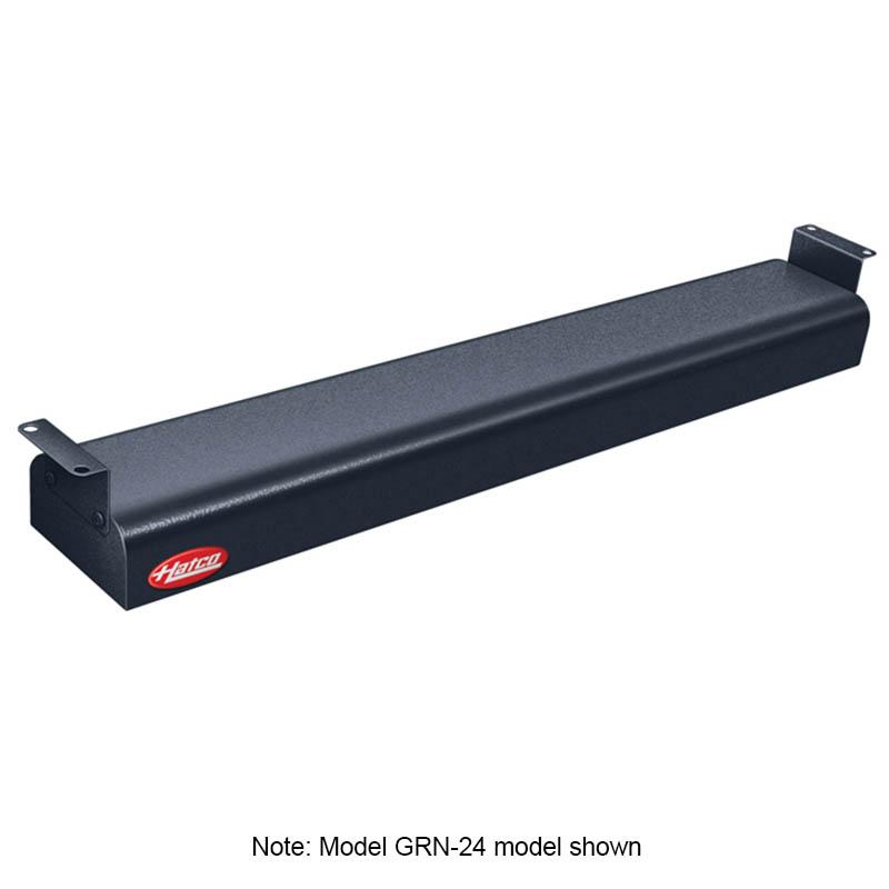 """Hatco GRN-42 120 BLACK 42"""" Narrow Infrared Foodwarmer, Black, 120 V"""