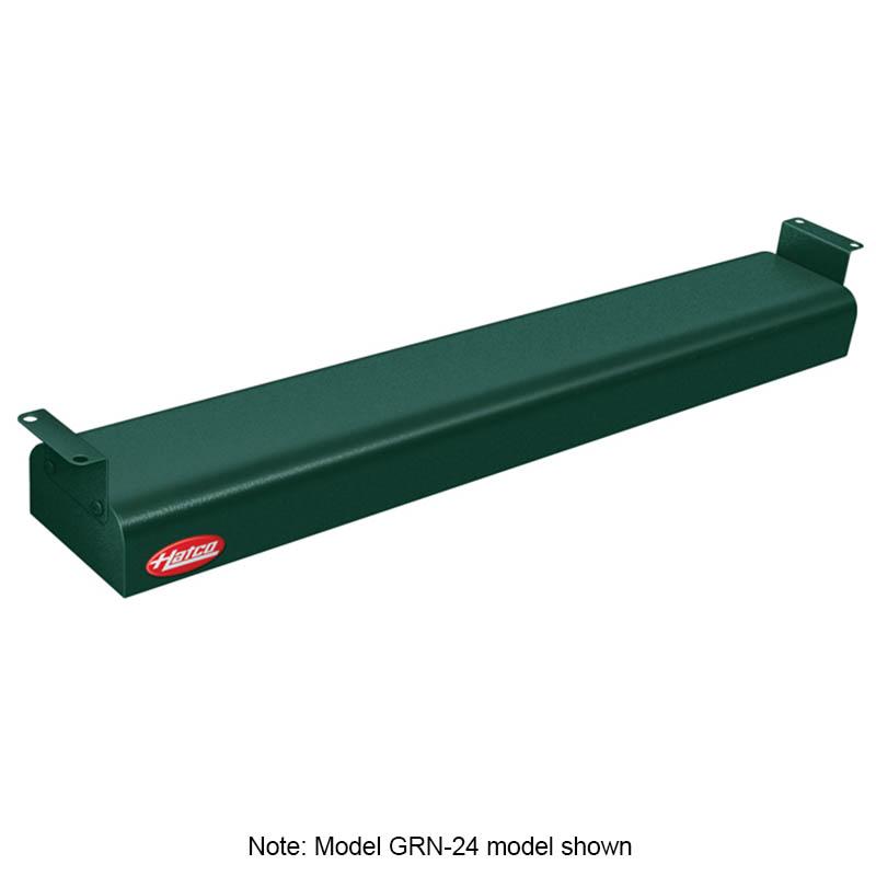 Hatco GRN-42 208 GREEN 42-in Narrow Infrared Foodwarmer, Hunter Green, 208 V