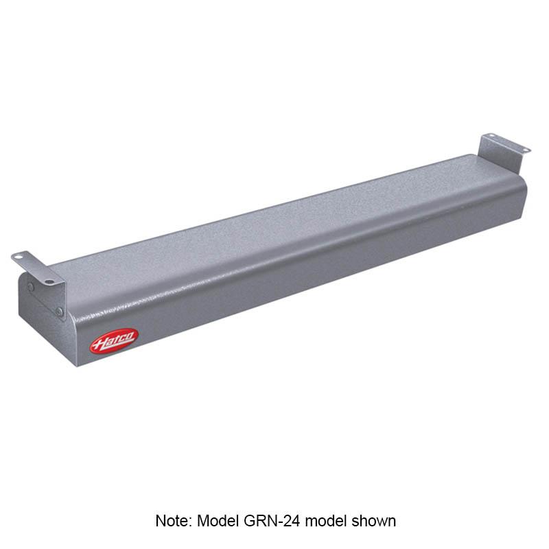 """Hatco GRN-42 240 GRAY 42"""" Narrow Infrared Foodwarmer, Gray Granite, 240 V"""