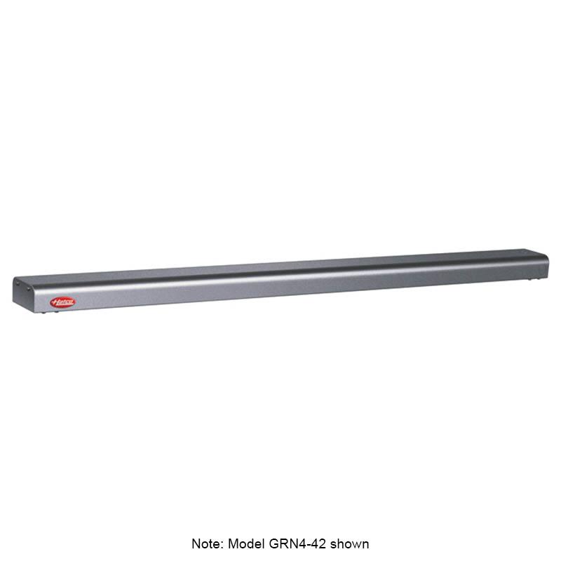 "Hatco GRN4-30 GRAY 30"" Narrow Halogen Foodwarmer, Gray Granite, 120 V"