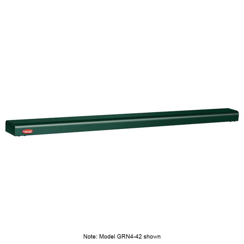 """Hatco GRN4-48 GREEN 48"""" Narrow Halogen Foodwarmer, Hunter Green, 120 V"""