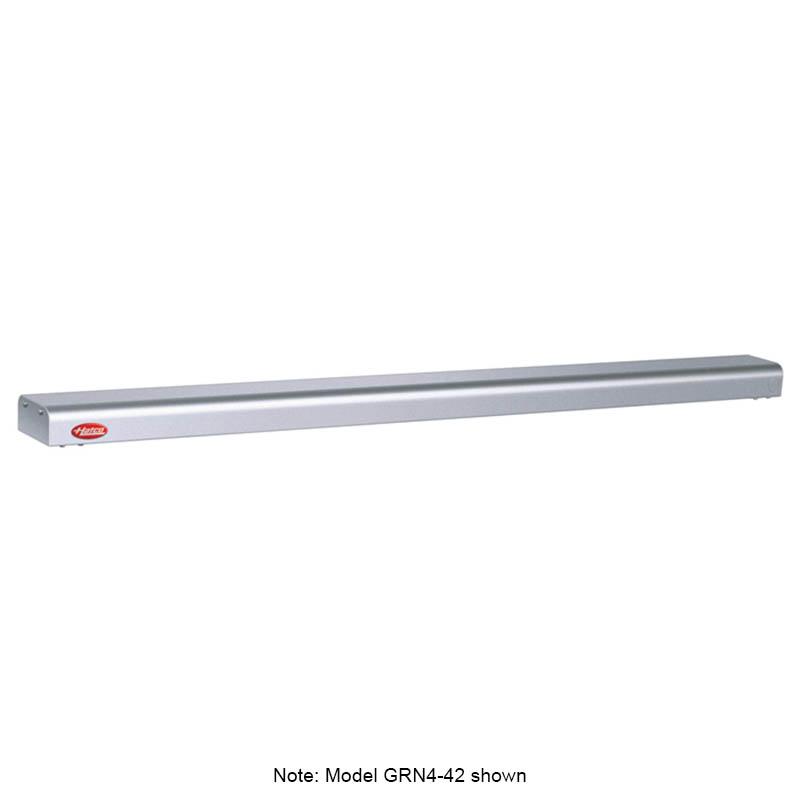 "Hatco GRN4-54 WHITE 54"" Narrow Halogen Foodwarmer, White Granite, 120 V"