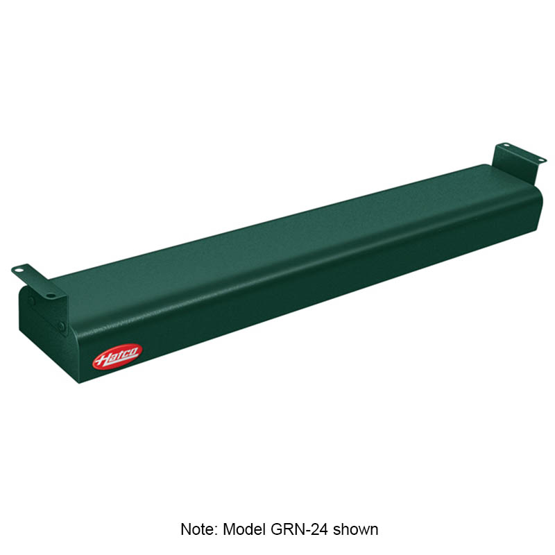 "Hatco GRN-48 208 GREEN 48"" Narrow Infrared Foodwarmer, Hunter Green, 208 V"