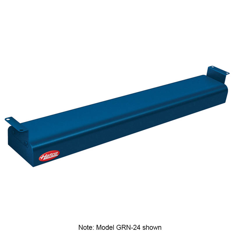"Hatco GRN-48 240 NAVY 48"" Narrow Infrared Foodwarmer, Navy, 240 V"