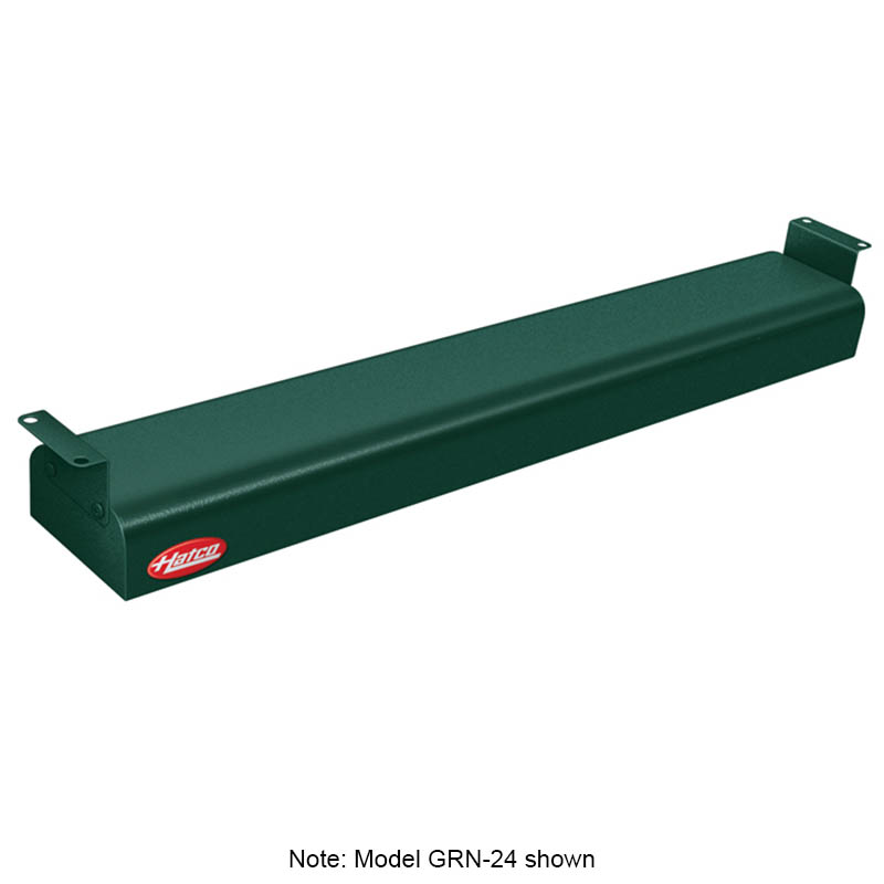 "Hatco GRN-54 54"" Narrow Infrared Foodwarmer, Hunter Green, 208 V"