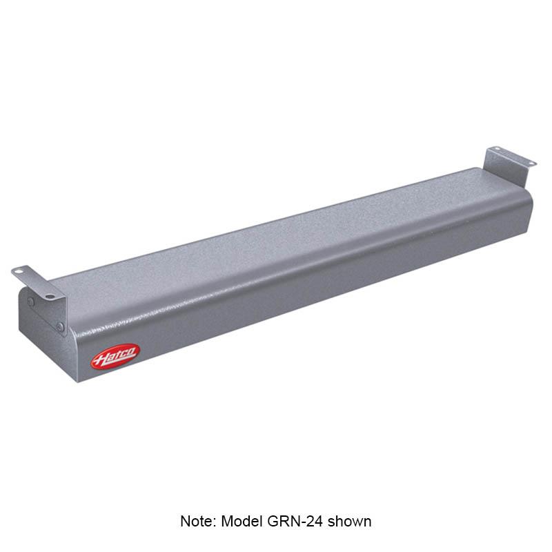 """Hatco GRN-54 240 GRAY 54"""" Narrow Infrared Foodwarmer, Gray Granite, 240 V"""