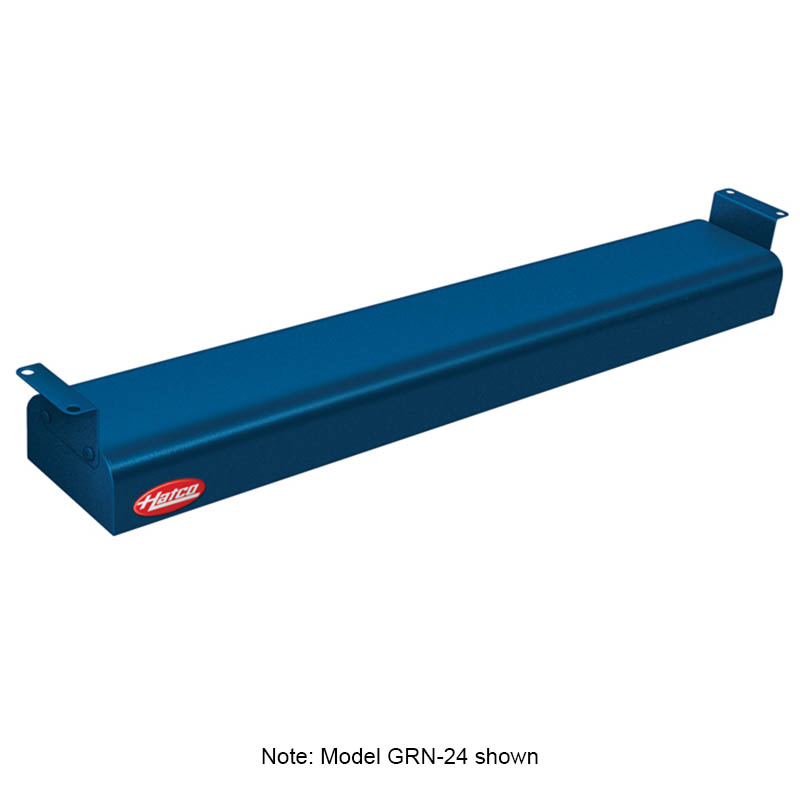 "Hatco GRN-54 240 NAVY 54"" Narrow Infrared Foodwarmer, Navy, 240 V"