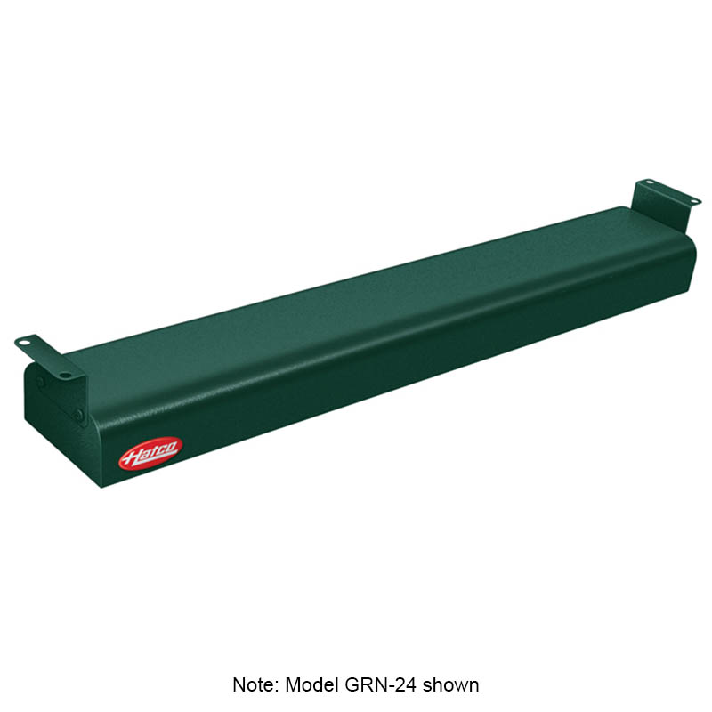 "Hatco GRN-60 208 GREEN 60"" Narrow Infrared Foodwarmer, Hunter Green, 208 V"