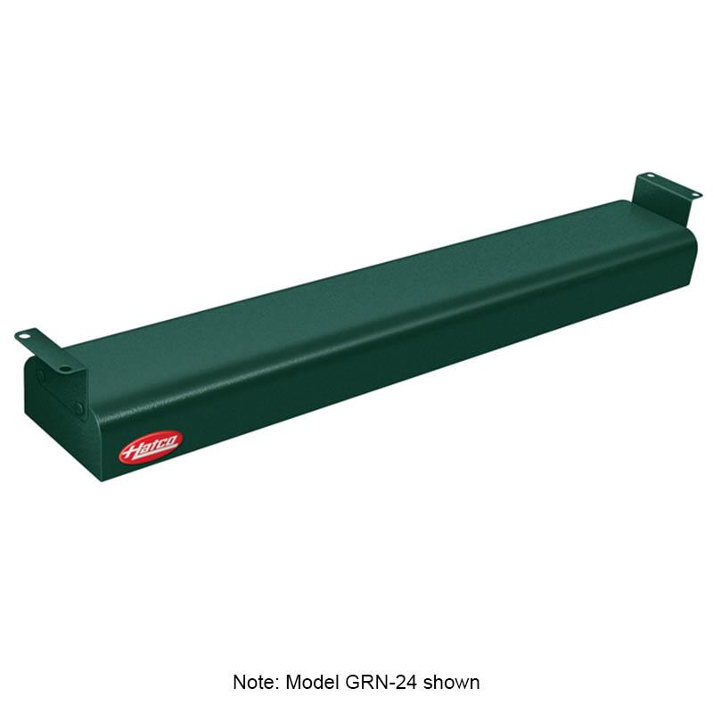 "Hatco GRN-60 240 GREEN 60"" Narrow Infrared Foodwarmer, Hunter Green, 240 V"