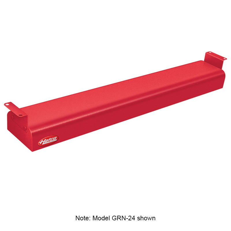 """Hatco GRN-60 240 RED 60"""" Narrow Infrared Foodwarmer, Warm Red, 240 V"""