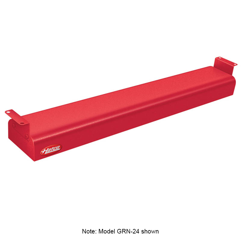"Hatco GRN-66 120 RED 66"" Narrow Infrared Foodwarmer, Warm Red, 120 V"