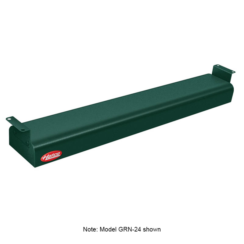 "Hatco GRN-66 208 GREEN 66"" Narrow Infrared Foodwarmer, Hunter Green, 208 V"