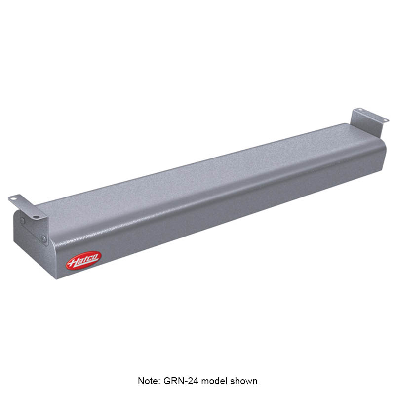 "Hatco GRNH-66 120 GRAY 66"" Narrow Infrared Foodwarmer, High Watt, Gray, 120 V"