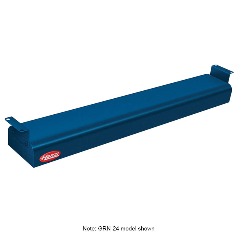 """Hatco GRNH-72 208 NAVY 72"""" Narrow Infrared Foodwarmer, High Watt, Navy, 208 V"""