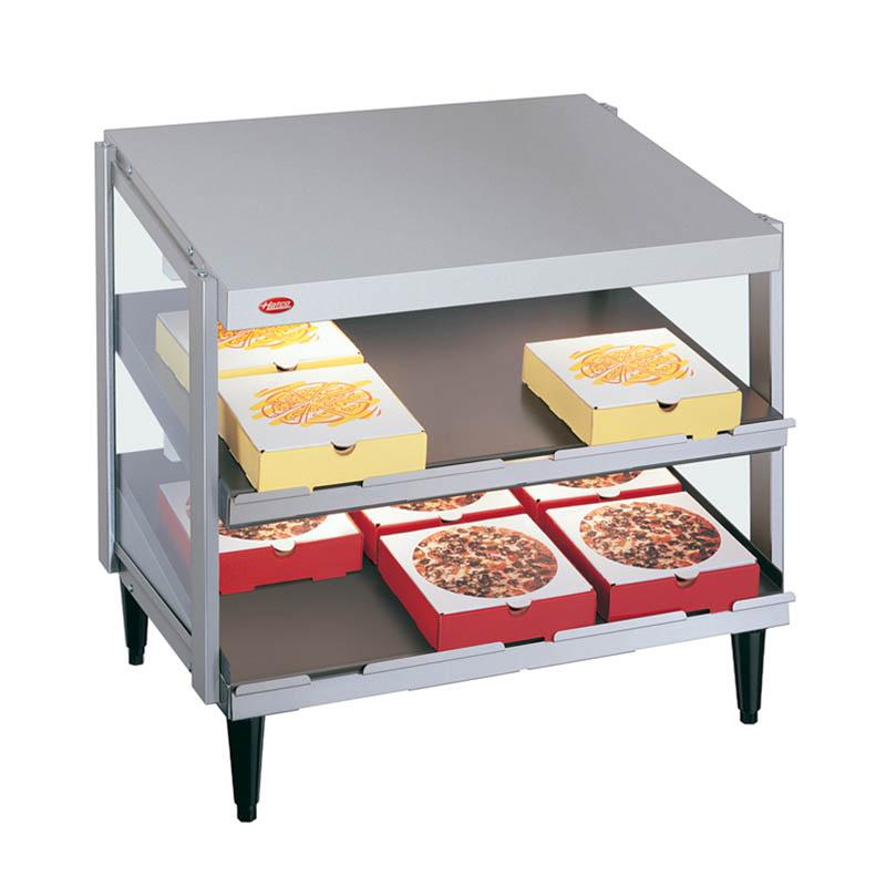 Hatco GRPWS-2418D Pass-Thru Pizza Warmer w/ Double Slant Shelf, 24 x 18-in, 120 V