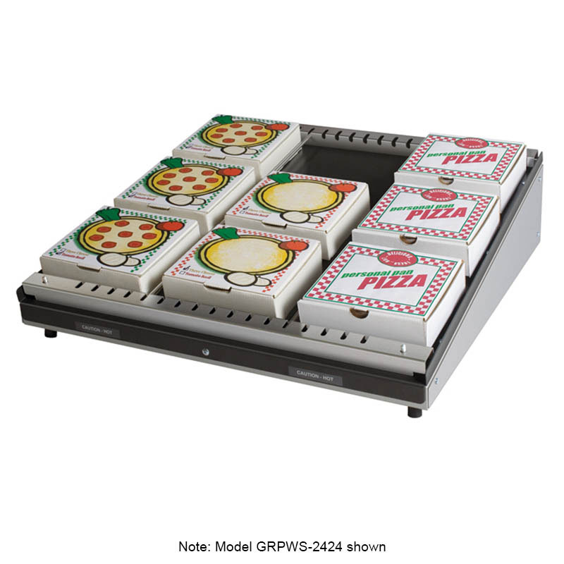 "Hatco GRPWS-3624 Pass-Thru Pizza Warmer w/ Single Slant Shelf, 36 x 24"", 120 V"