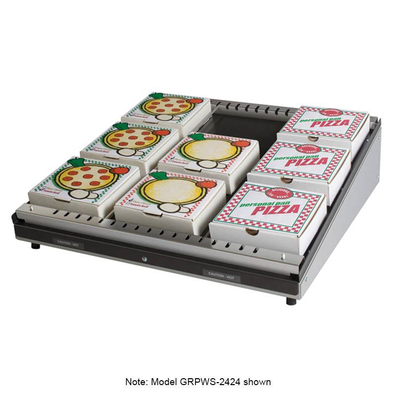 Hatco GRPWS-4824 Pass-Thru Pizza Warmer w/ Single Slant Shelf, 48 x 24-in, 120 V