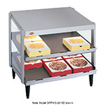 "Hatco GRPWS-4824D Pass-Thru Pizza Warmer w/ Double Slant Shelf, 48 x 24"", 120 V"