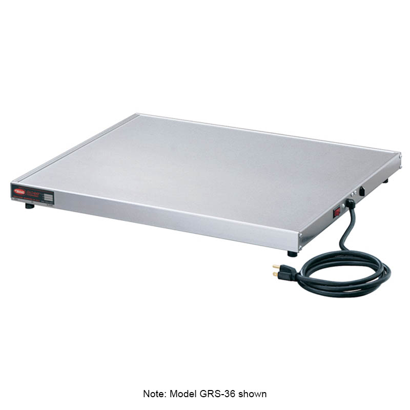 "Hatco GRS-18-G 18"" Heated Shelf w/ Adjustable Thermostat, 15-3/4"" W, 120 V"