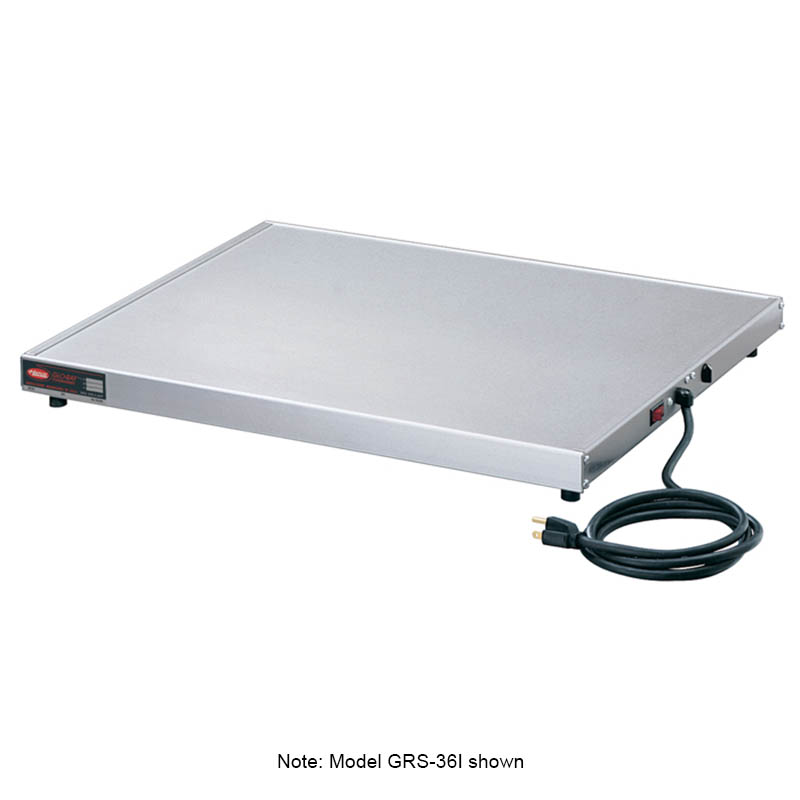 "Hatco GRS-36-D 36"" Heated Shelf w/ Adjustable Thermostat, 12"" W, 120 V"
