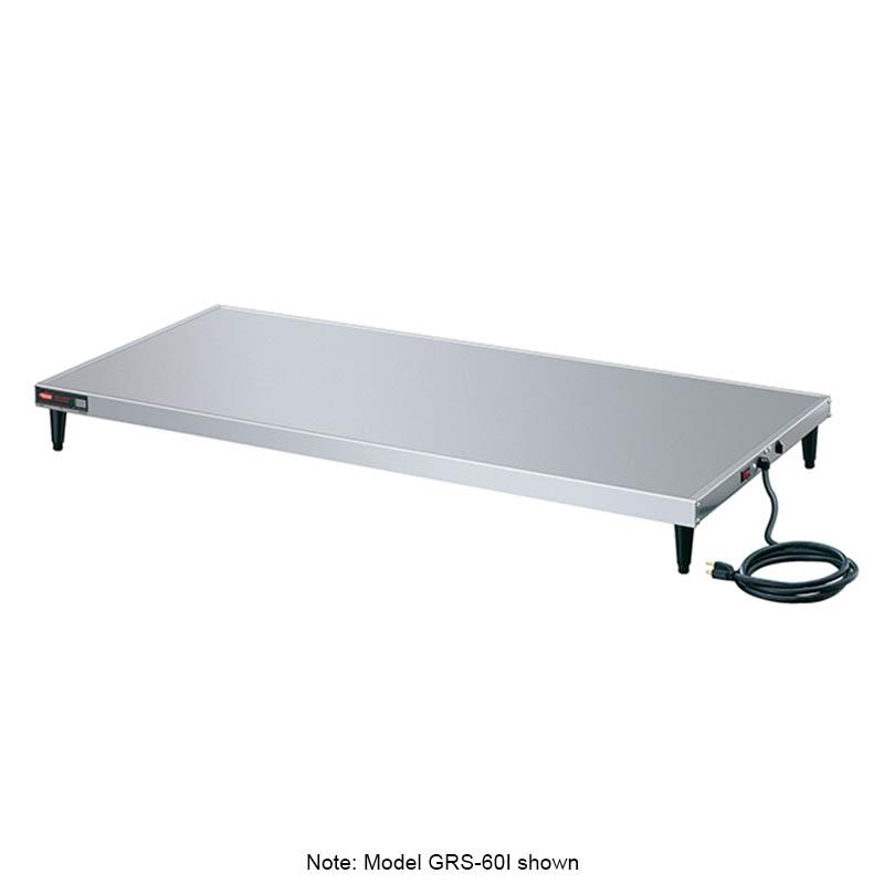 """Hatco GRS-60-K 60"""" Heated Shelf w/ Adjustable Thermostat, 23.5"""" W, 120 V"""