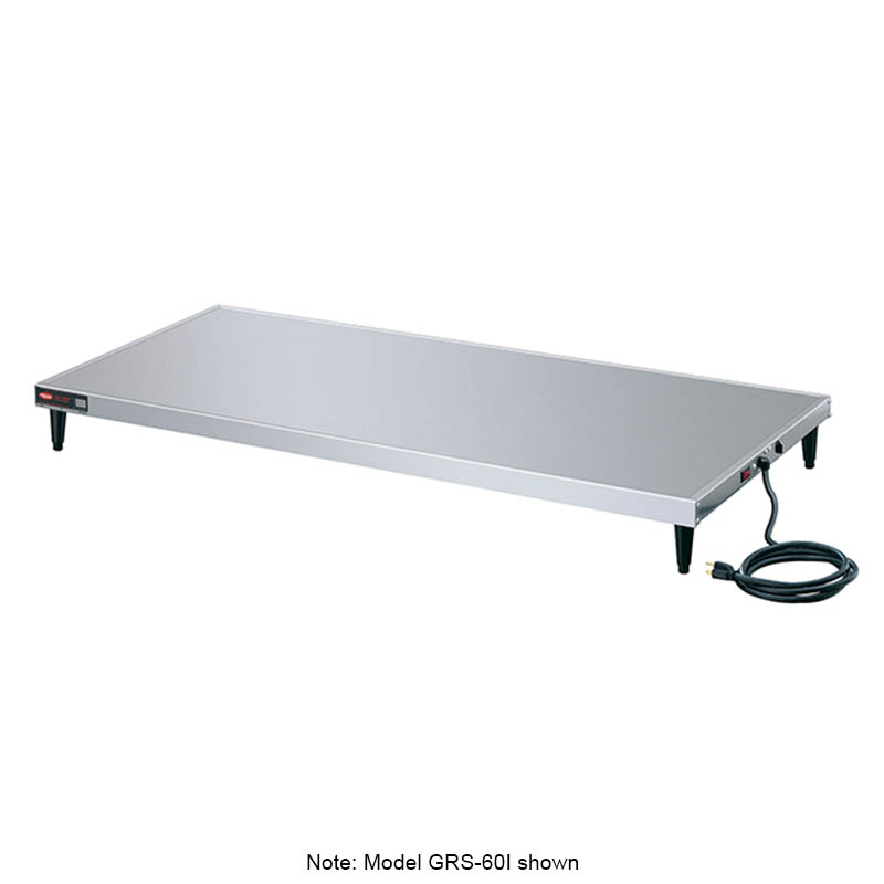 "Hatco GRS-66-D 66"" Heated Shelf w/ Adjustable Thermostat, 12"" W, 120 V"