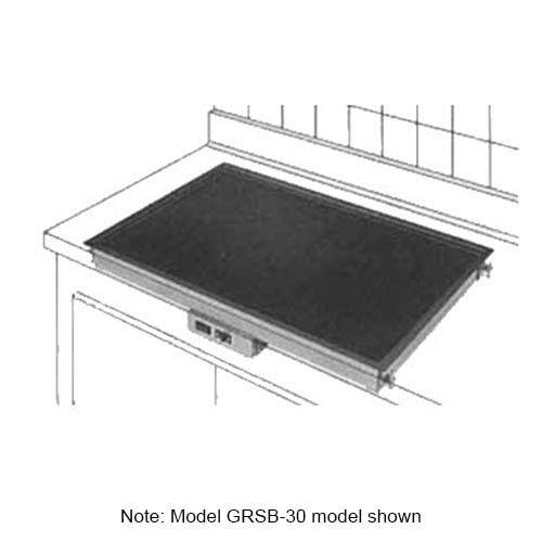 """Hatco GRSB-36-O Drop In Heated-Shelf, Recessed Top, 37.5 x 31.5"""", 1110 Watts"""