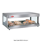 Hatco GRSDH-30 Glo-Ray Merchandising Warmer, Pass-Thru, 1 Shelf w/ 6 Rods, 970 W