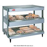 "Hatco GRSDH-36D 36"" Self-Service Countertop Heated Display Shelf - (2) Shelves, 120v"
